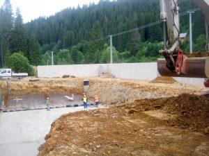 Čierny Balog -kanalizácia a ČOV