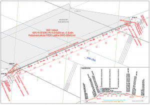 Radava - premostenie vodovodného potrubia